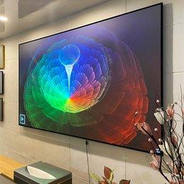 Tela XY Ust Pet Crystal Xiao Mi Wemax One Ultra Short Throw Projector Tela em Promoção