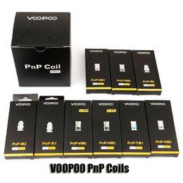 100% Original VOOPOO PnP Coils Head VM1 VM3 VM4 VM5 VM6 TM1 M2 Mesh R1 R2 Vape Core For Vinci R X Drag S Argus RX Air Atomizer Kit Authentic on Sale