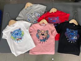 baby kids clothing2021 Summer Short Sleeve T-Shirt fashion boys and girls half sleeve T-shirt short T children's roun on Sale
