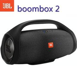 Boombox 2 Portable wireless jbl Bluetooth Loudspeaker boombox Waterproof Loudspeaker Dynamic Music Subwoofer Outdoor Stereo on Sale