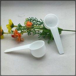 Опт Измерьте пластиковую ложку пластиковый измерительный совок 5G мера ложки кухня инструмент