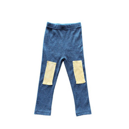 Wholesale kids wear tights resale online - Girls Leggings Kids Tights Girls Trousers Spring Autumn Cotton Casual Skinny Pants Kids Clothes Toddler Wear Years B3876