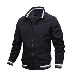 windbreaker pullovers UK - New And Men's Autumn Army 2021 Mens Casual Bomber Windbreaker Spring Fashion Men Coats Clothes Outdoor Jacket Jackets Streetwear Agqwj
