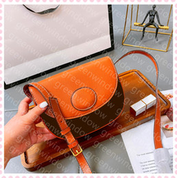 slings bags for women Australia - Women Leather Ladies For Brown Handbag 2021 Crossbody Designer Luxurys Messenger Bags Designers Sling Shoulder Female 21030310DQ Etvaw