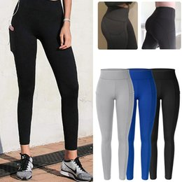 Discount men workout leggings Leggings With Pocket Mid Waist Perfect Fit Legging Women Seamless Fitness Leggins Workout Butt Lifting Push Up Pencil Pa