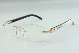2021 new style glasses frames for men women high-end designers glasses 3524012 natural hybrid buffalo horns glasses frame, size: 36-18-140