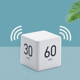 Wholesale hot Cube timer Countdown reminder to do problem time management student learning timer Timers free shipping