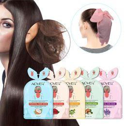 Venta al por mayor de Mascarilla de la cola de pelo de 15 ml Nutrición profunda de la membrana del cabello Reparación de la membrana Bifurcation Buttercup Tratamiento Máscaras de la atención