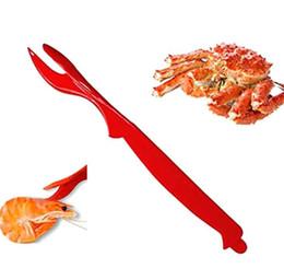 venda por atacado Seafood Crackers Lobster pega ferramentas caranguejo, lagostim, camarão, camarão - fácil abridor de abrir marisco faca