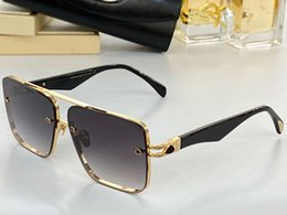 Wholesale cars first resale online - THE TEL II New men glasses car fashion sunglasses top outdoor uv400 sunglasses square shape selection of first class metal frame to send box