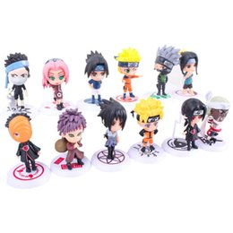 Wholesale Anime Model Naruto Shippuden Q Edition 18th and 19th Generation 6 Figures Animation peripheral gift children's toys