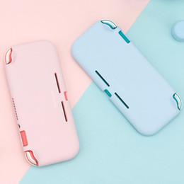 Ciecz Silicone Case Dla Nintendo Switch Lite Color Różowy Pokrywa Powłoki NS Mini Shell Box dla Nintendo Switch Lite Akcesoria C0127