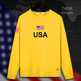 Discount tracksuits men usa United States of America USA US mens hoodie pullovers hoodies men sweatshirt thin new streetwear clothing jerseys tracksuit nati