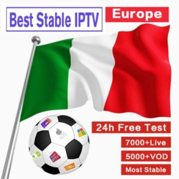 M3U High Clear 4 K Antennstöd Smart TV, IPTV Android Ands iPhone, I Italien, Europa