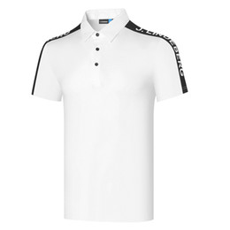 Wholesale Summer New Men Short Sleeve Golf T-Shirts 2 Color JL Golf Clothes Leisure Sports Golf Shirts S-XXL in Choice Shirt Free shipping