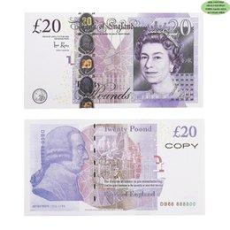 Prop Money Copy UK LIFTS GBP Bank 100 50 Notas Extra Bank Strap - Películas Play Fake Casino Photo Booth en venta