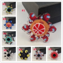 3D top Phantom Fingertip Spinning Will run about Cartoon dynamic Special effects Finger peak toy on Sale