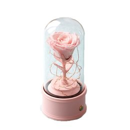 Wholesale Home decoration flowers are really fragrant flower lasting 12 months without fading, aromatherapy, birthday, Valentine's day gifts, unique blossom for women