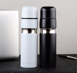 C Classic Thermoses 304 Stainless Steel Car Bottle Lipstick Coffee Cup Travel Vacuum Flask