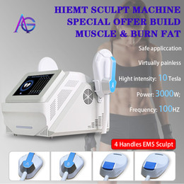 2021 sculpt EMslim HI-EMT machine EMS Muscle Stimulator electromagnetic fat burning shaping hiemt sculpting beauty equipment free logo on Sale