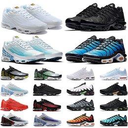 Nike air max tn plus 3 Koşu Ayakkabıları Erkek Kadın Kuzey Güney Işıkları Deniz Ormanı Karbon Gri beyaz Siyah Kırmızı Sarı Açık Trainer Spor Sneakers Online Satış