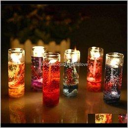 Vrac Coton Fleurs parfumées Thé Lumière de thé Lumières Bougies Parfumée Aroma Therapy