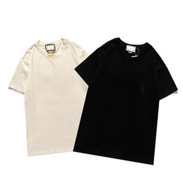 Fashion ForTops Letter Embroidery T Shirt Mens Womens Clothing Short Sleeved Tshirt Men Tees b2 on Sale