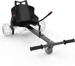 Опт Hoverboard Go-Kart Вложение сиденья - Регулируемая длина кадра на белом фоне аксессуар для детей / взрослых