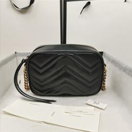 Wholesale Wholesale genuine leather camera bag purse fashion shoulder bag cowhide handbag presbyopic card holder purse evening bag messenger women