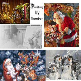 Wholesale Painting Gifts in Oils , an oil painting by Number Christmas Gifts For Kids Friends to Make a Great Painter