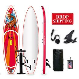 Entrega de la nave de Dropward Funwater dentro de los 7 días de la tabla de surf 350 * 84 * 15cm Inflable Standup Paddle Board Surf Wholesale Sup PaddleBoard Water Sport en venta