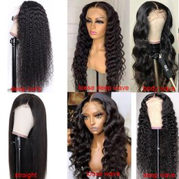 Wholesale MS Glam 5X5 HD Film Lace Closure Wig Top Quality Pre-Plucked Natural With Baby Hair Virgin Brazilian Remy Extensions Vendors at China