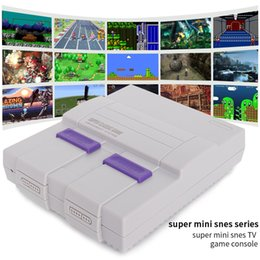 Wholesale Factory Mini HD HDMI TV Video Game Console Handheld Edition Family Game Console 821 Classic for SNES Games Dual Gamepad
