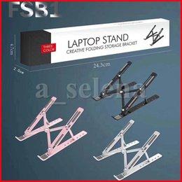 Suporte portátil do suporte do caderno portátil do portátil de 10 velocidades para MacBook Pro Air Lapdesk Laptopsk Pad de refrigeração em Promoção