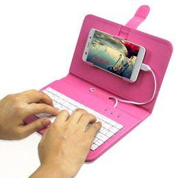 Großhandel Handy Keyboards Mobile OTG Tastatur für Android Smartphones Pad Samsung Huawei Xiaomi im Angebot