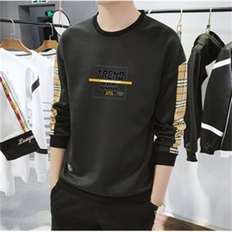scoop bottom t shirt NZ - 2021 New Men's Long-sleeved Inner Tide Sweater Bottoming Shirt Rounded Hem Long T-shirt S8sx