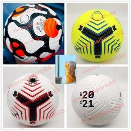 Club League 2021 2022 Soccer Piłka Rozmiar 5 Wysokiej jakości ładny mecz Liga Premer 20 21 PU Piłka nożna (wyślij piłki bez powietrza)