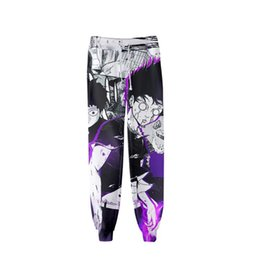 mob psycho 100 NZ - High quality mob Psycho 100 pants 3D unisex fashion jogging pants streetwear trousers casual Harajuku sweatpants