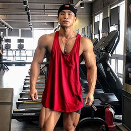 mens black mesh shirt Canada - New Summer Brand Vest Mesh Gym Clothing Mens Tank Tops Sleeveless Shirt Bodybuilding Equipment Fitness Men's Stringer Tanktop
