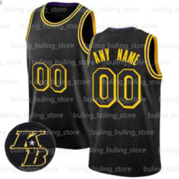 Maillot de basketball des Lakers pour hommes Tshirt Gilet James n /° 23 Maillot Black Mamba 24 Kobe Chicago Bulls 23 Fans de Bryant