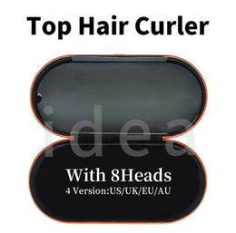 8 Heads Hair Curler With Gift Box Multifunctionele Haar Styling Apparaat Automatisch Curling Iron voor Normaal Haar Topkwaliteit EU / UK / VS / AU