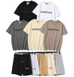Wholesale High quality Mens and womens Tees Polos fashion Short Sleeve Leisure T-shirt trends fear of god fog essentials designer jogger Shorts