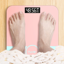 Wholesale Multi-pattern USB rechargeable mini electronic body scale weighing scale household weighing scale