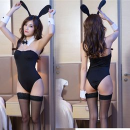 rabbit woman sexy costume UK - Women's sexy lingerie uniform allure rabbit girl performance costume role play game Costume