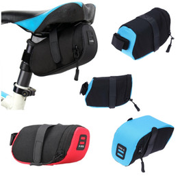 cushion storage bags Canada - MTB Toolkit Pouch Cushion Cycling Bag Seat Pack Saddle Bicycle Under Polyester Storage Bags Folding Road Rear Tail Bike Qvsev