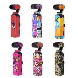 Wholesale 2021 OSMO Pocket 2 Accessories PVC Stickers Gimbal Skin Decals for long time