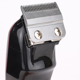 Wholesale Top Seller 8148 Magic Clip Metal Hair Clipper Electric Razor Men Steel Head Shaver Hair Trimmer black Gold Red 2 Color