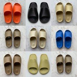 Topsportmarket dia's slippers mannen vrouwen woestijn zand zwart groen bot witte kern bruin enfora oranje hars glijbaan maangrijs sandalen pure roet schoenen maat 13