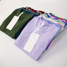 yoga womens sports t shirts wear swiftlys Tech ladies short-sleeved T-shirts moisture wicking knit high elastic fitness Fashion Tees