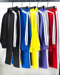 Wholesale womens jog suits for sale - Group buy 2021 Mens Designer Tracksuit Womens Casual Jacket Sweatshirts Fashion Men s clothing Outdoor Jogging Sportswear Top Coats Man Pants Or Suits